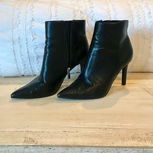 Black express ankle boots